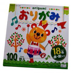 Кольоровий папір для орігамі, Daiso Japan
