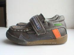 Мокасины-туфли для мальчика, р. 22, кожа