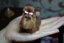 Изготовление, валяние мини копий животных для кукол
