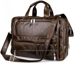 Супер стильная мужская сумка. Натуральная кожа. Скидки