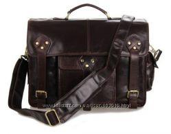 Мужские сумки и портфели. Натуральная кожа. Большой выбор. Скидки.