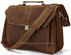 Классные качественные сумки и портфели из натуральной кожи. Скидки.
