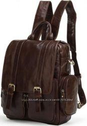 Кожаные рюкзаки отличного качества. Большой выбор. Скидки.