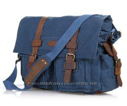 Стильные и практичные мужские сумки из плотной ткани  кожа
