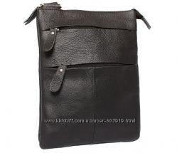 Мужские кожаные сумки на плечо. Отличное качество