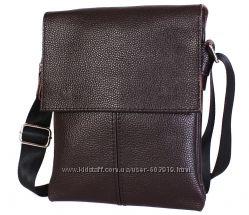 Мужские кожаные сумки на плечо. Отличное качество. Большой выбор.