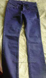 Джинсовые брюки синие Sexy woman  Италия р-р S новые