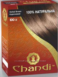 Натуральные краски для волос Chandi на основе хны.