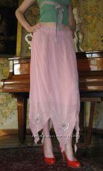 фирменная юбка, натуральная ткань, размер ХL