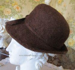 теплая фетровая шляпа