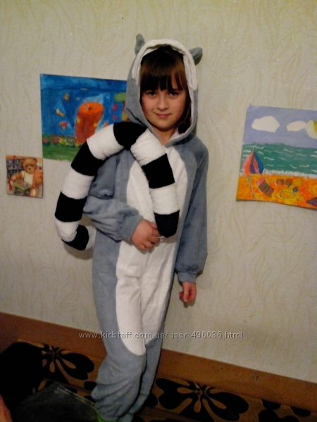 Карнавальный костюм енота мадагаскар прокат e40daf1b8fe85