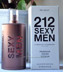 Carolina Herrera 212 sexy men edt 100 ml  tester
