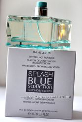 Antonio Banderas Splash blue seduction edt 100 ml  tester оригинал