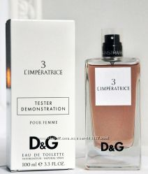 Dolce & Gabbana 3 LImperatrice edp 100 ml  tester