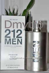 Carolina Herrera 212 Men edt 100ml tester