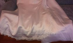 белое платье корсет, юбка