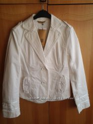 Брендовый пиджак - жакет с интересной спинкой