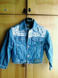 Отличная джинсовая курточка на девочку за вашу цену