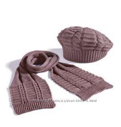 Новый набор шапочка и шарф