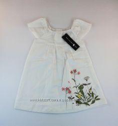 Льняное платье для малышки. Франция