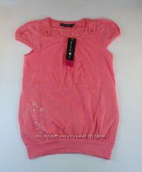 Удлиненная футболка для девочки. Франция