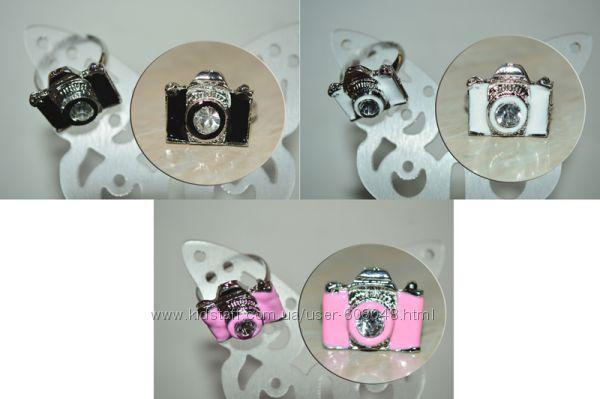 Колечко Фотоаппарат, три цвета