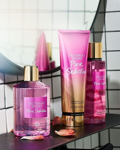 Набор Pure Seduction от Victorias Secret спрей лосьон и гель для душа