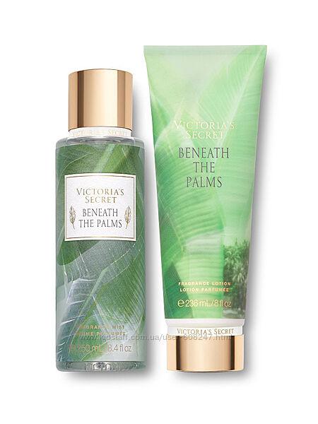 Набор спрей и лосьон для тела Beneath The Palms Victorias Secret оригинал