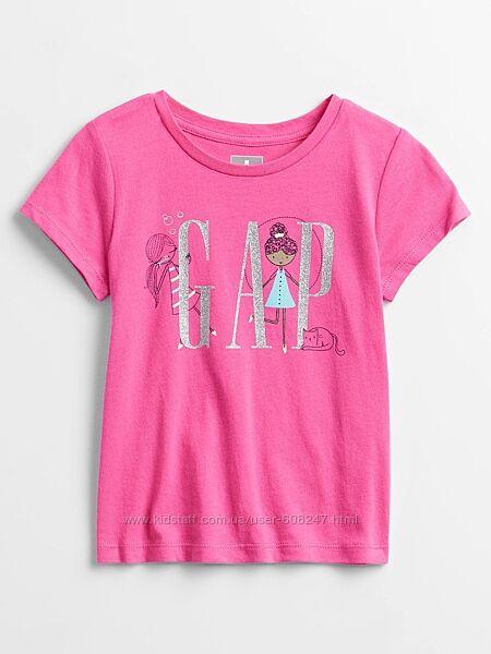 Детская футболка Gap для девочки оригинал Геп