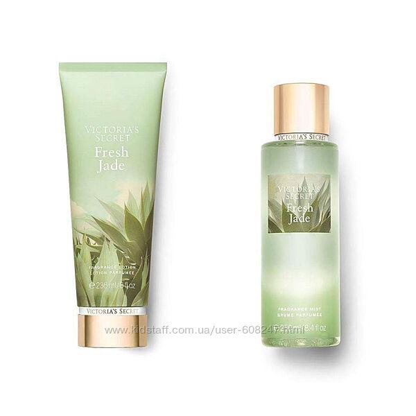 Подарочный набор Victoria Secret Fresh Jade лосьон спрей оригинал СШA