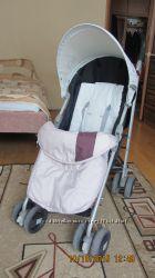 Продам прогулочную коляску Сам Flip с чехлом на ноги в хорошем состоянии