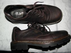 кожаные туфли ф. RIEKER размер 41 -  27  cv