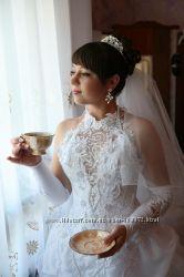 Шикарное свадебное платье недорого