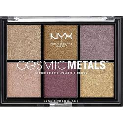 Палетка теней NYX Professional Makeup Cosmic Metals Shadow Palette