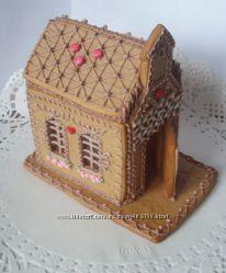 Пряничные домики, шкатулки из медового теста.