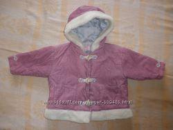 Курточка зимова для маленької принцеси на ріст 74 см