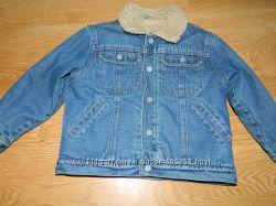 Утепленная джинсовая куртка 4г.