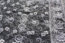 Свадебный платок фатин