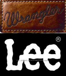 Джинсы Wrangler, Lee, Levis Америка