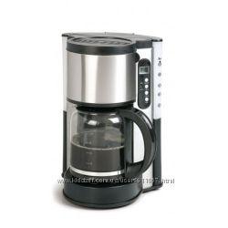 Компактная кофеварка с таймером и съемным контейнером для воды