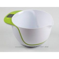 Кухонные весы с большим съемным подносом