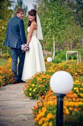 Элегантное свадебное платье от итальянских производителей.