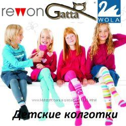 Детские колготки Gatta, Wola, Rewon производитель Польша.