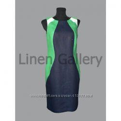 Льняное платье Зета