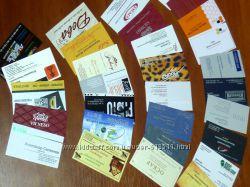 визитки, дисконты, календарики  любая полиграфия