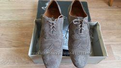 крутые замшевые туфли Geox б. у. 1 раз