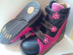 Ортопедические ботинки Орто плюс A-867 для девочек.