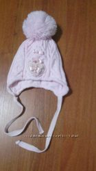 шапка для девочки зима