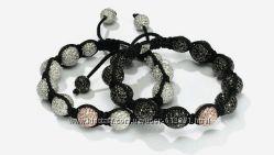 комплект из 2 браслетов Shamballa Jewels