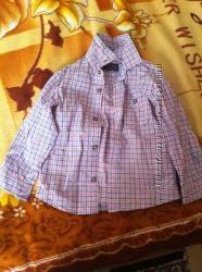 Рубашечка Zara baby в идеальном состоянии